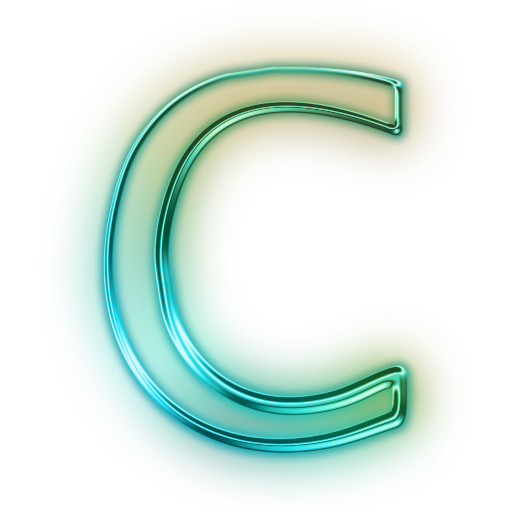 Capital letter c png. A to z alphabet
