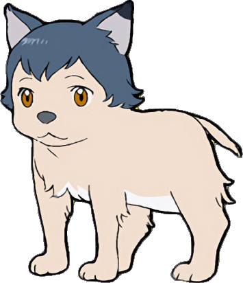 Wolf children png. Image ame child artwork