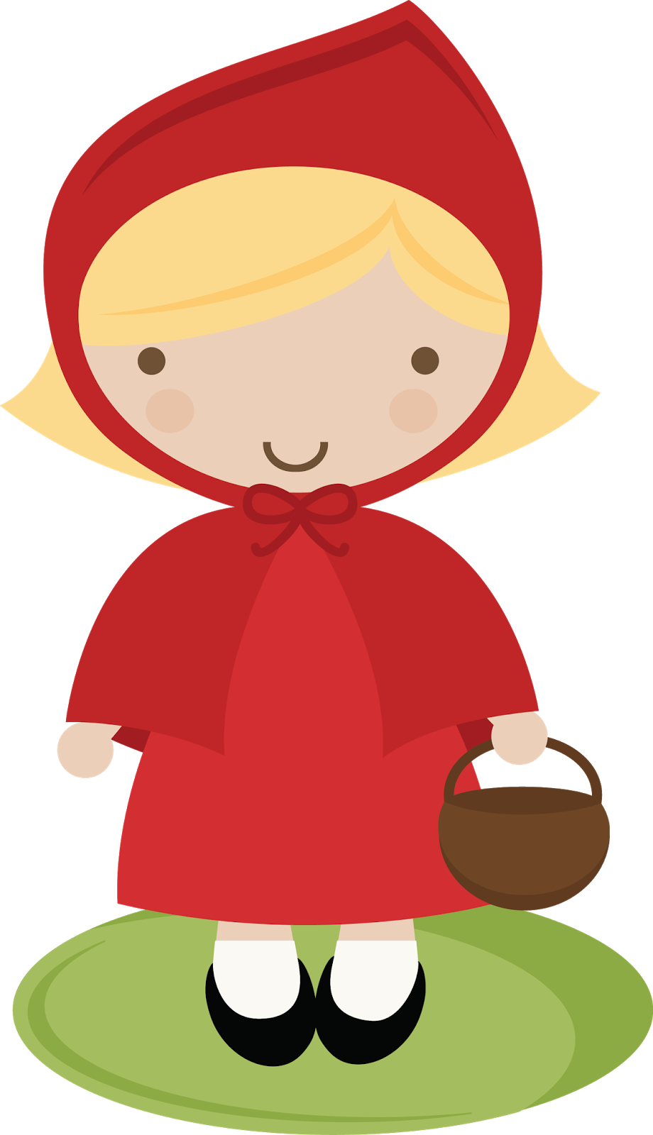 Wolf clipart red riding hood. Little template best blondie