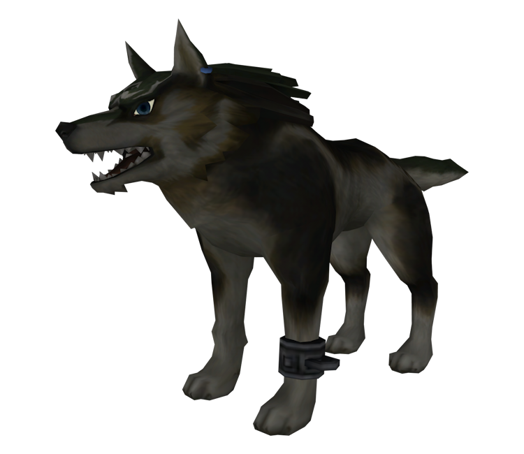 Transparent link wolf. Gamecube the legend of