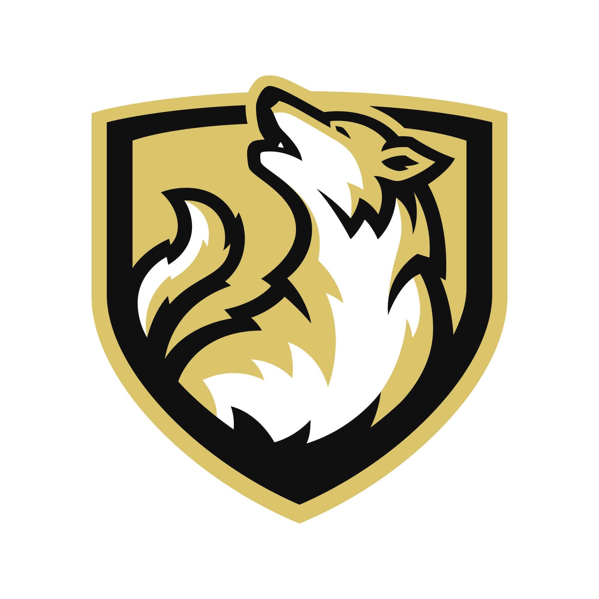 Wolf logo png. Resources wolves esports in