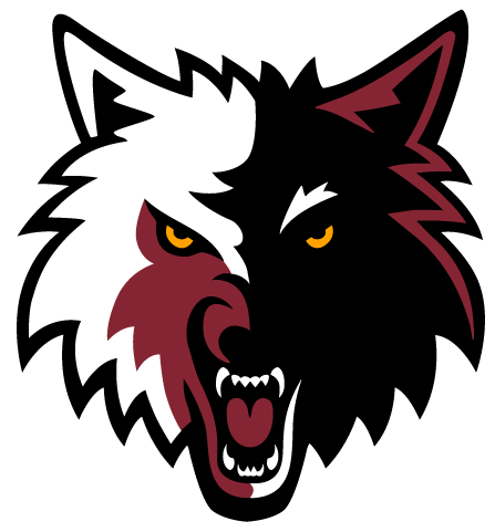Wolf logo png. Image wolves heat colors