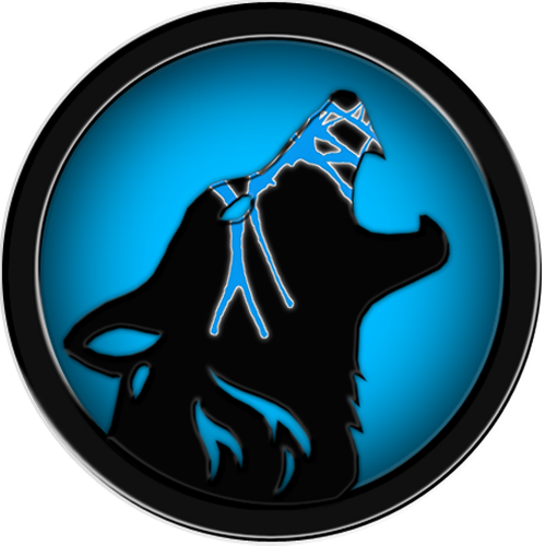 Wolf logo png. Image by slicerwolf d