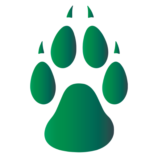 Wolf paw png. Cropped in creek company