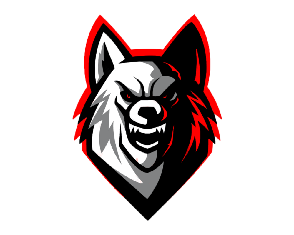 Wolf png logo. Clean by akther brothers