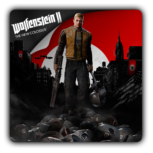 Wolfenstein nazi helmet icon png. For ii the new