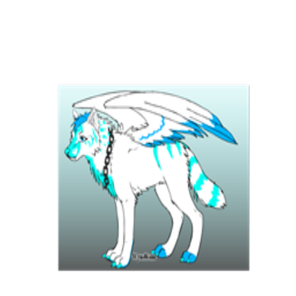Wolfs drawing sky. M element wolf s