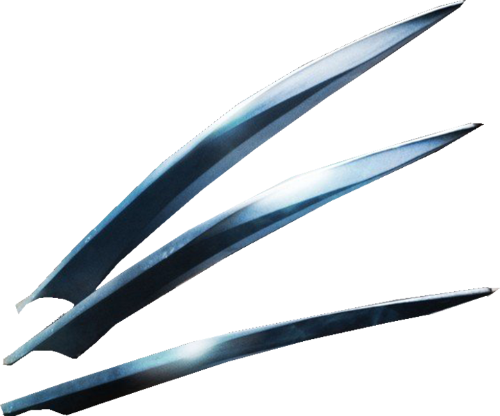 Psd official psds share. Wolverine claws png royalty free stock