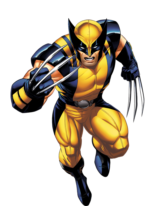 Wolverine yellow suit png. The history of costume