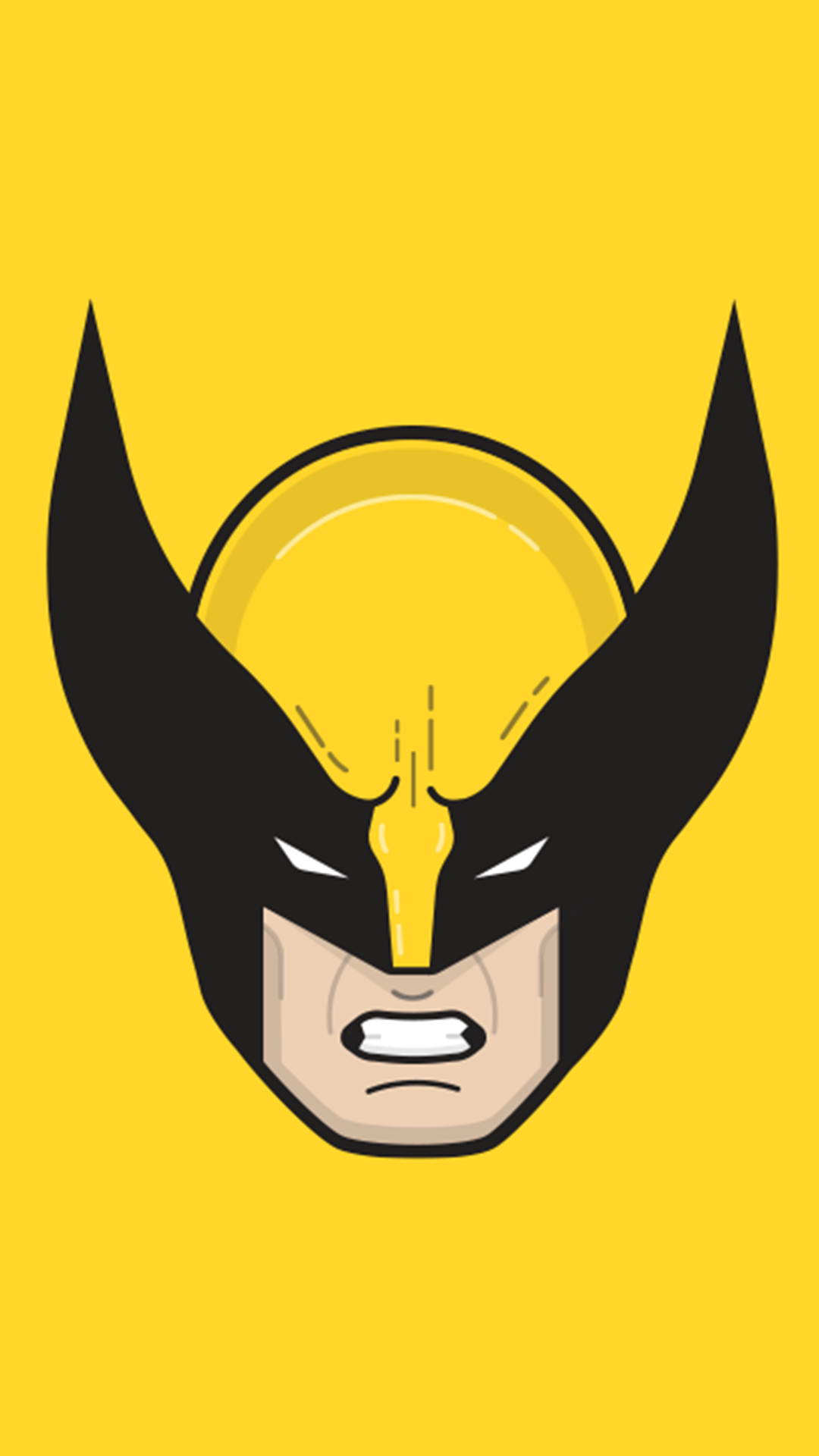 Wolverine clipart wolverine mask. Download the wallpaper iphone
