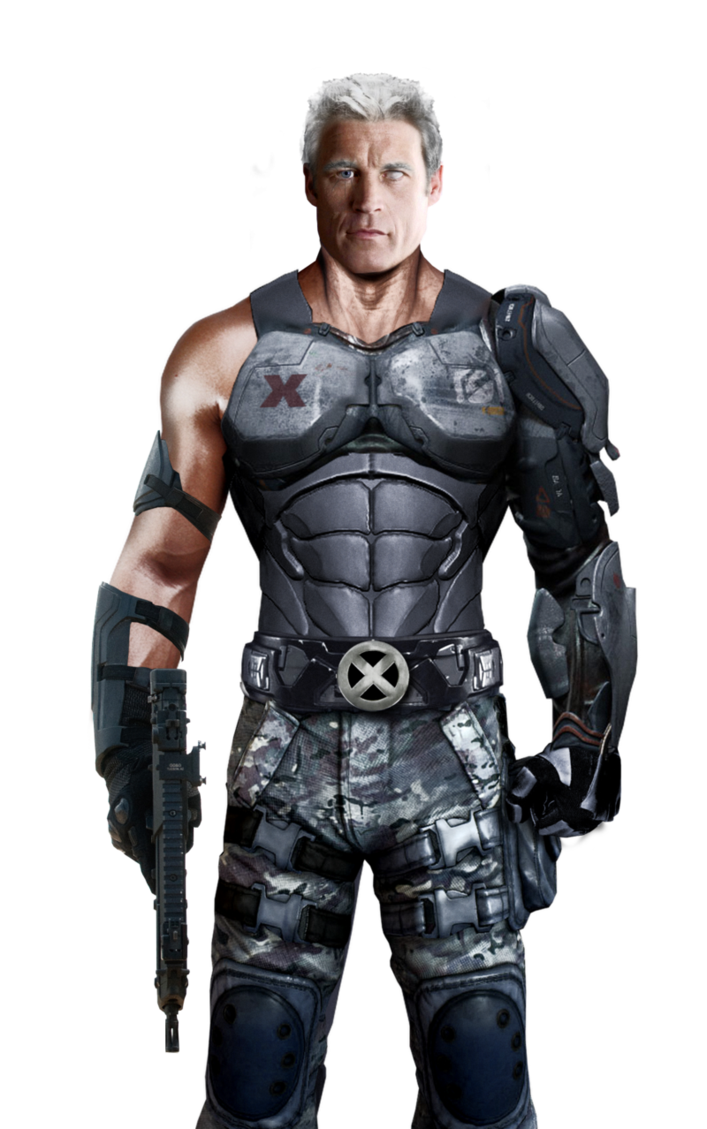 Marvel cable png. File by djray on