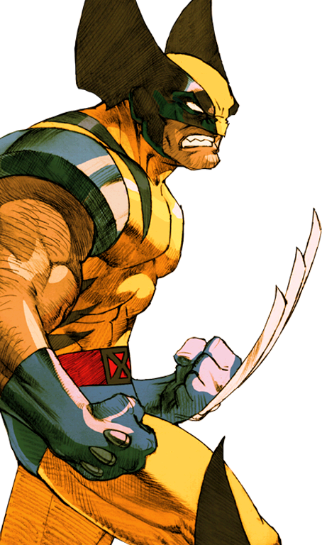 Drawing wolverine old school. Marvel vs capcom by