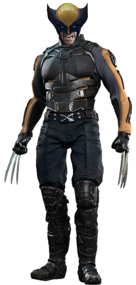 Wolverine png. With mask by gasa