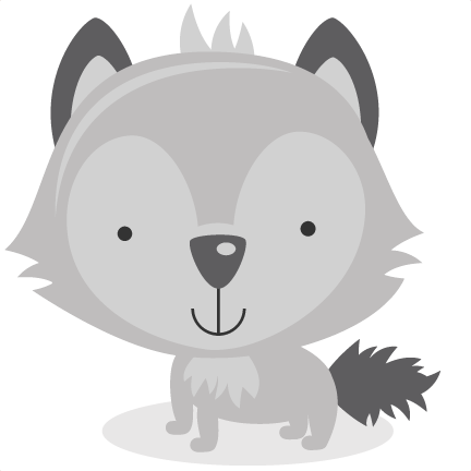 wolves transparent cute