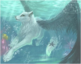 Wolves transparent ghost. Ghosts wolf flight books