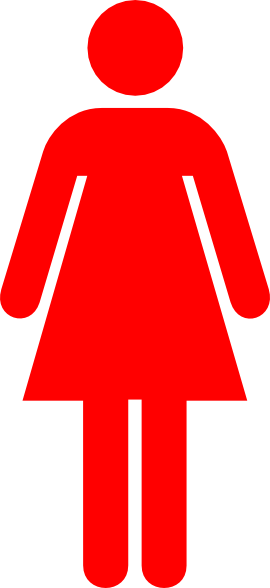 Red Woman Clip Art at Clker