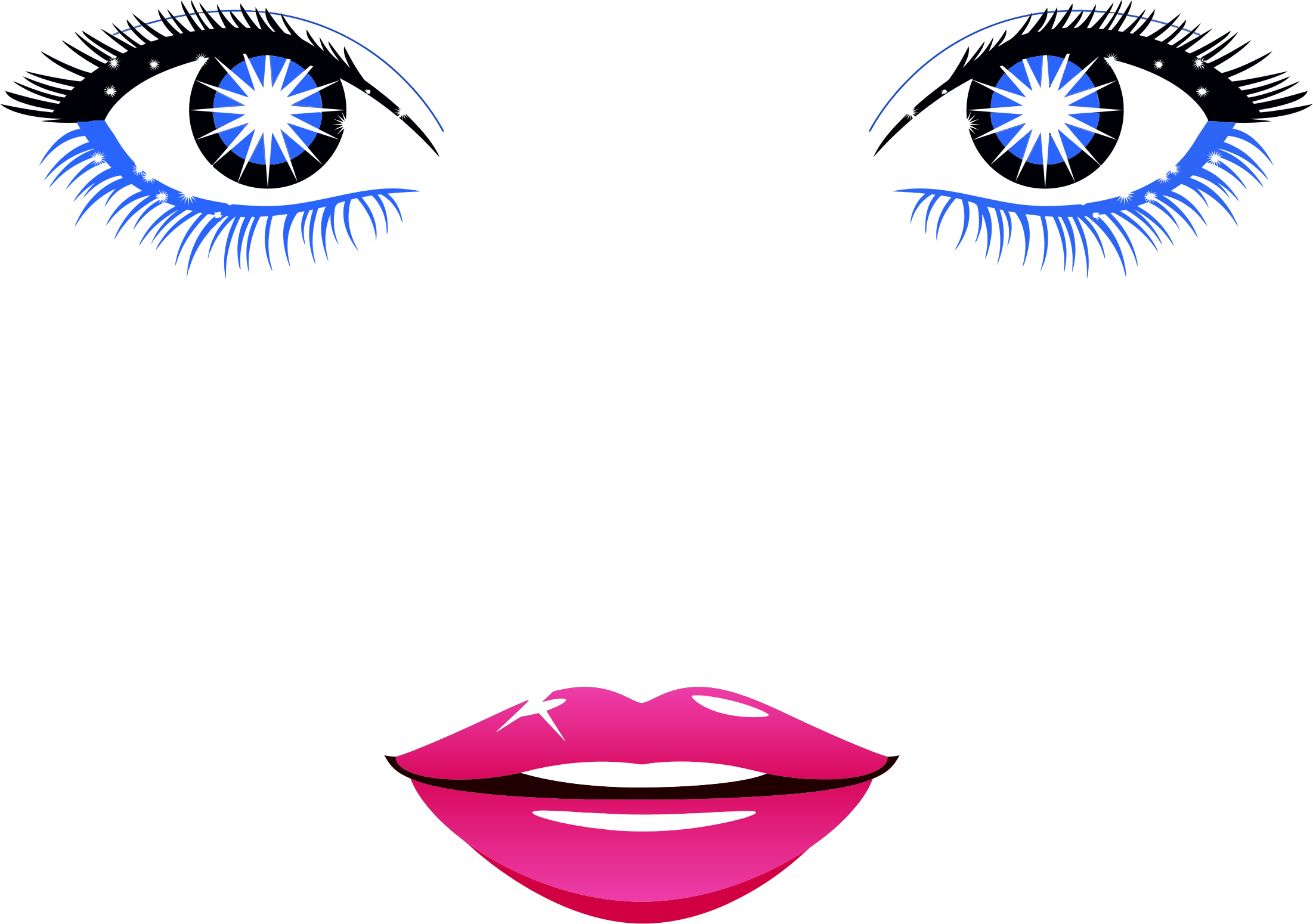 Woman clipart abstract. Female face big image