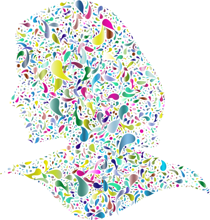 Woman clipart abstract. Computer icons female art