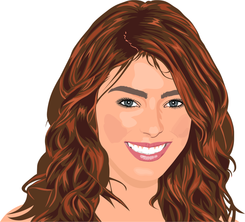 Woman clipart barber. Hairdresser hair care red
