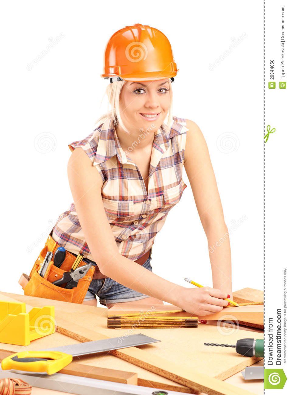 Female with helmet at. Woman clipart carpenter svg freeuse download