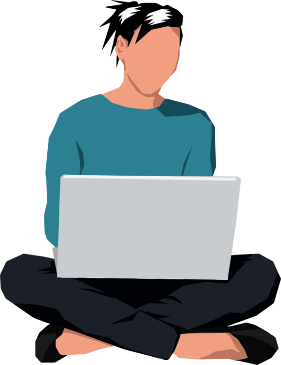 Manspreading sitting can stock. Woman clipart laptop png