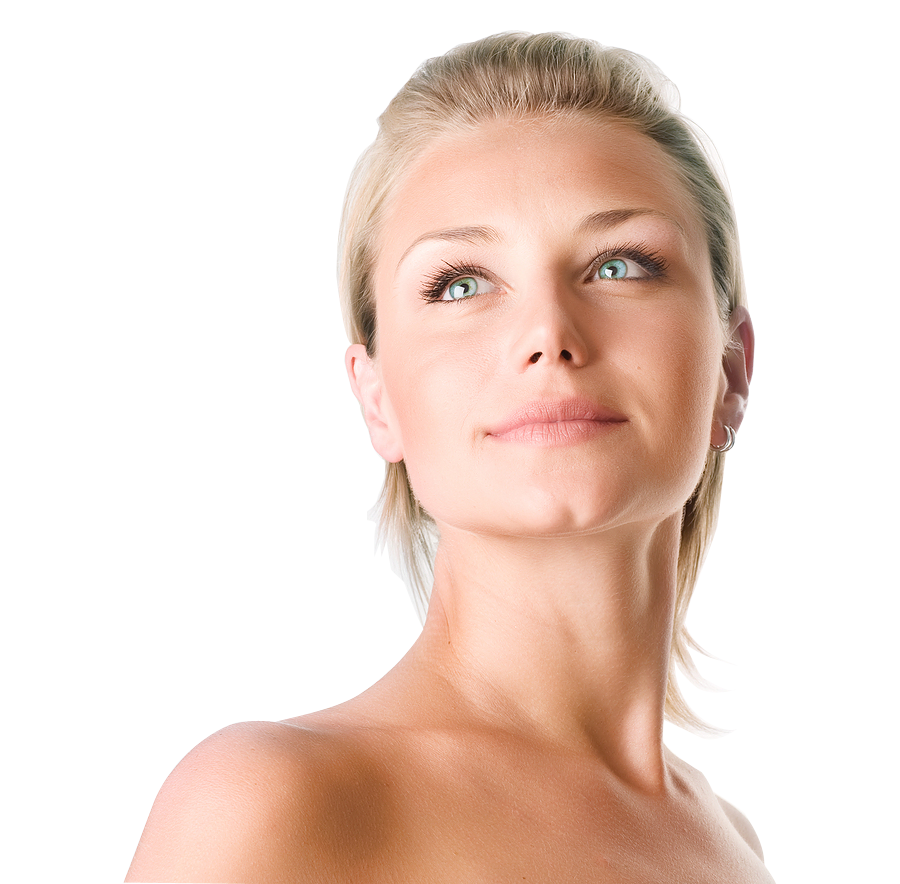 Woman face png.