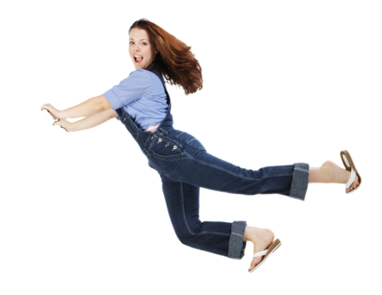 Woman falling png. Ftestickers people pushing