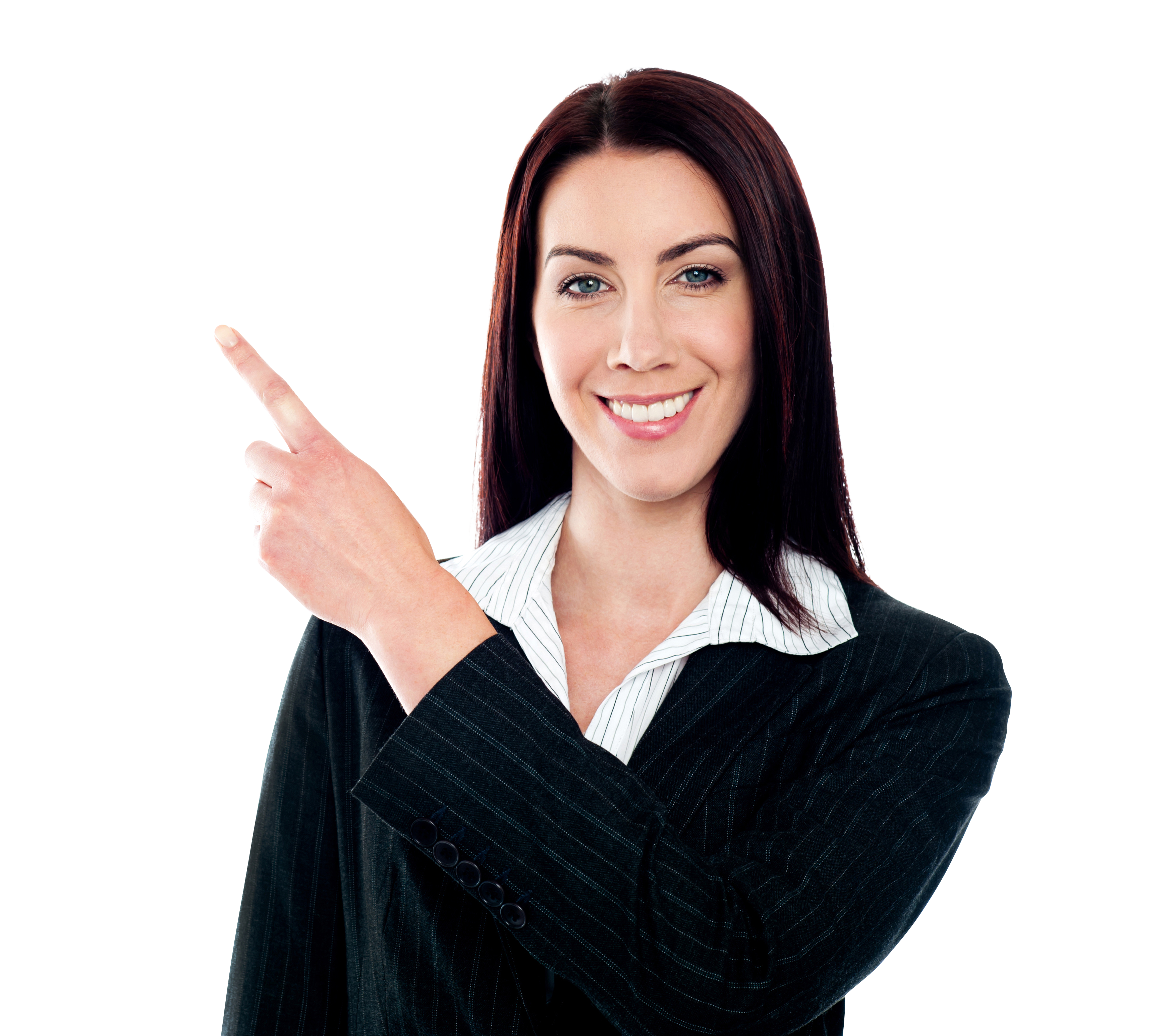 Woman pointing png. Women left image purepng