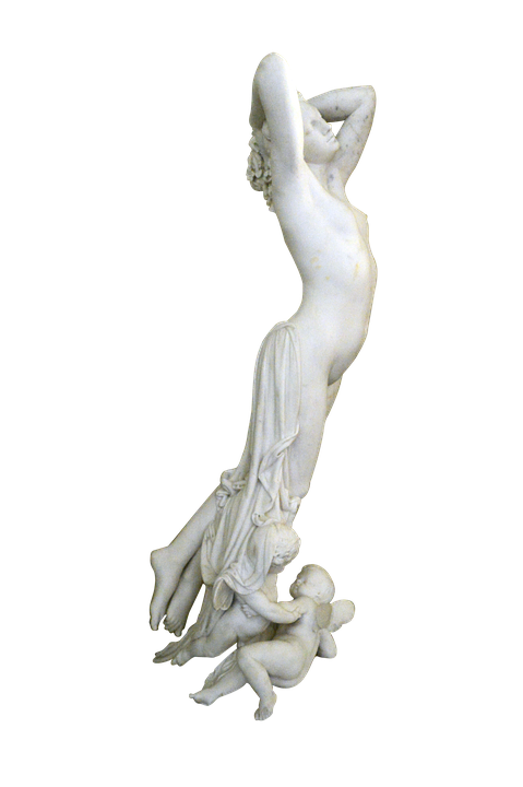 Woman statue png. Free photo marble sculpture
