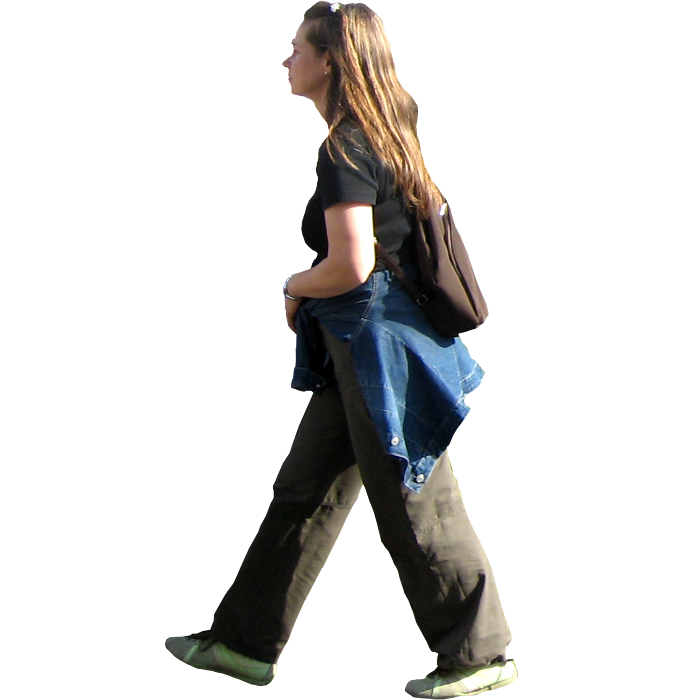 Person walking side view png. Walk image mart