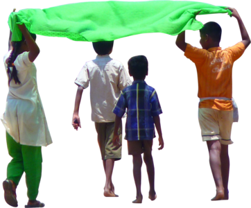 Farmer walking png. Clipped indianchildren