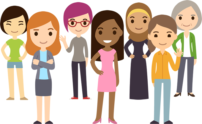 Women cartoon png. Pic wallpapers by kylian
