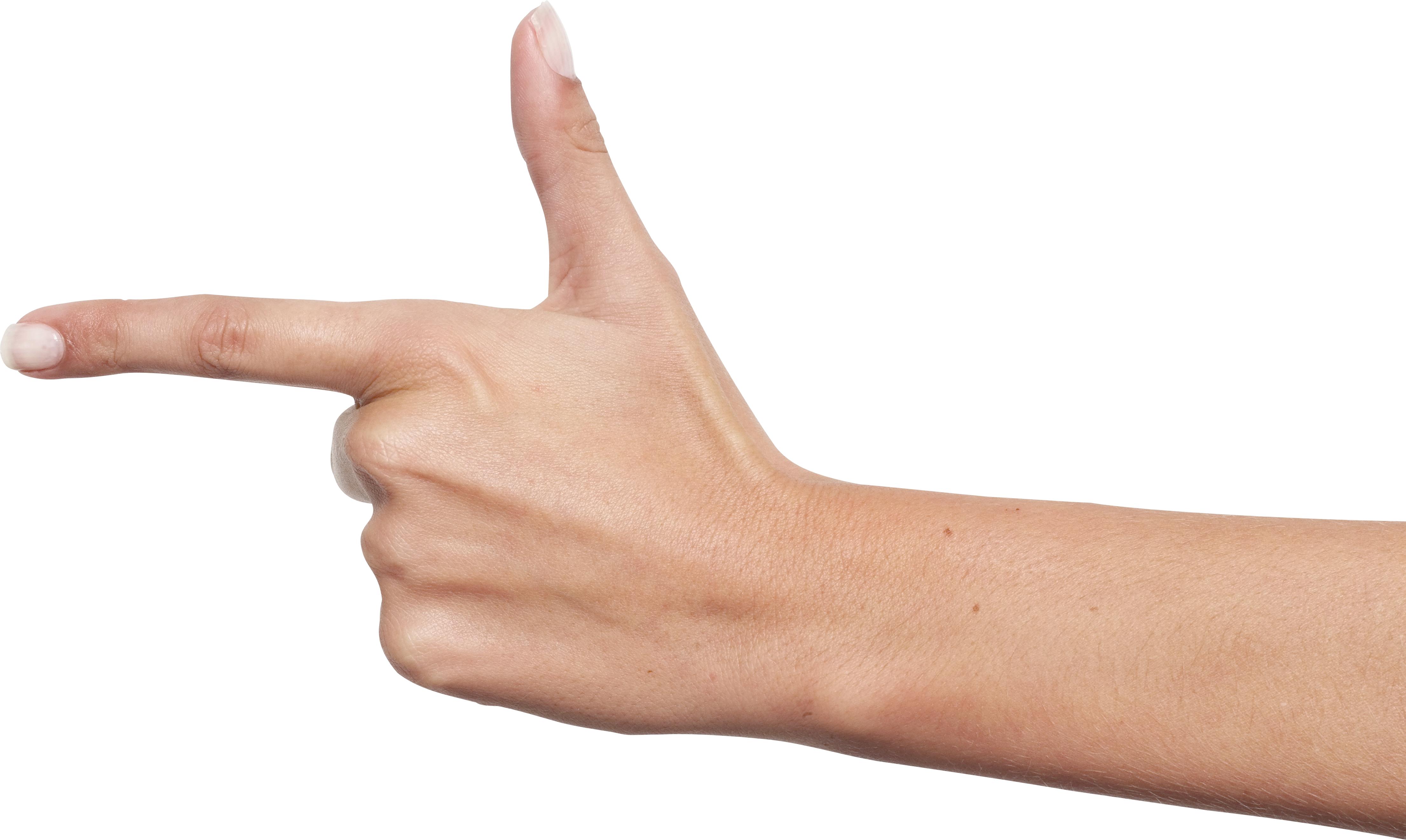 Women hand png. One finger image purepng