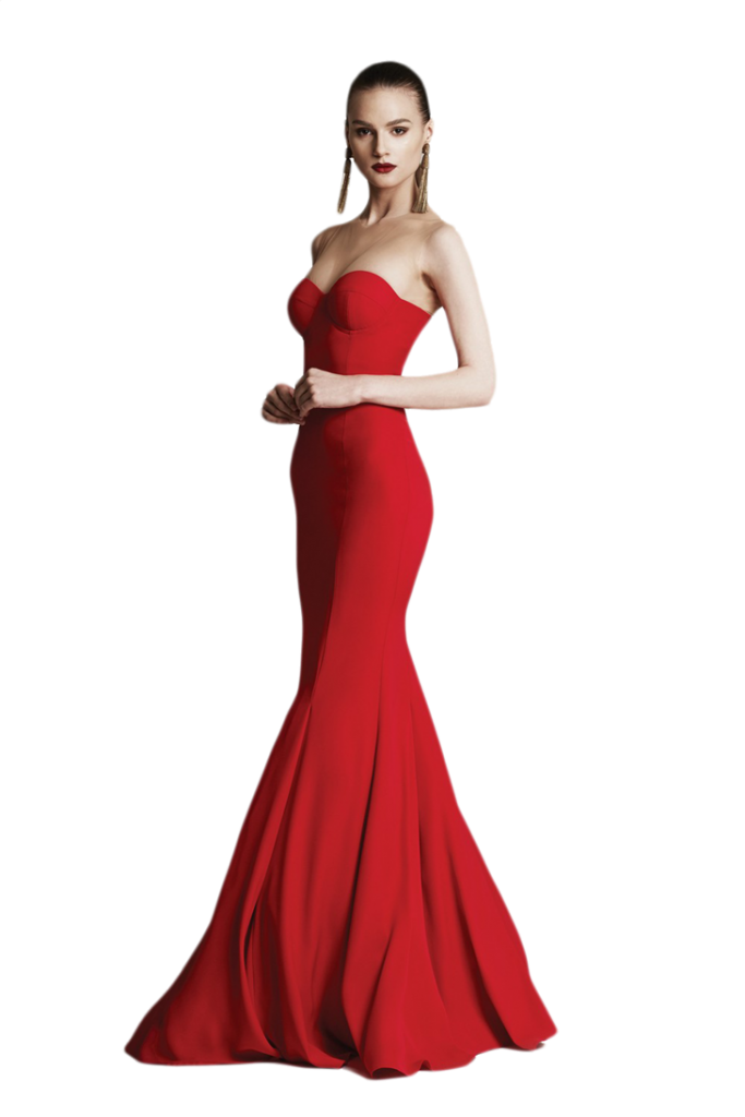 Women in red dress png. Photo peoplepng com