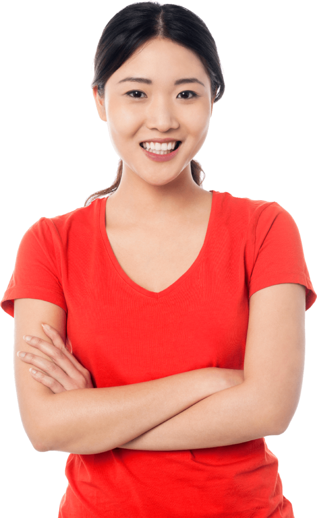 Women in red png. Asian peoplepng com