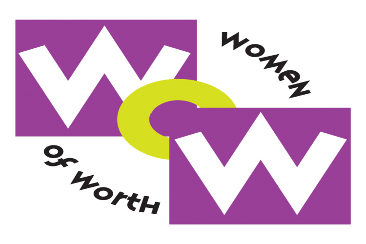 Women of worth logo png. The fearless project for