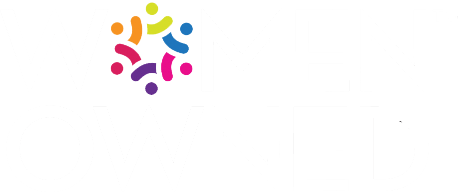 Women owned business logo png