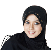 Women transparent hijab. Female hair covering in