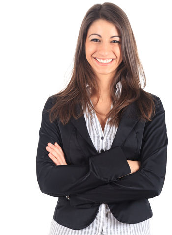 Women transparent professional. Fully automated recruiting software