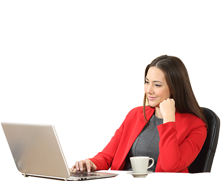 Women with laptop png. Wee blessing professional s