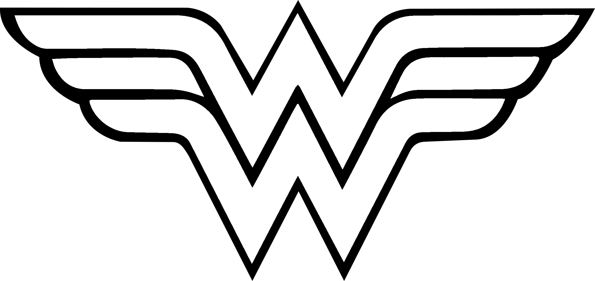 Woman transparent svg vector. Wonder women logo png banner download
