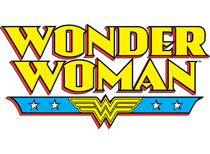 Woman transparent stickpng. Wonder women logo png vector black and white library