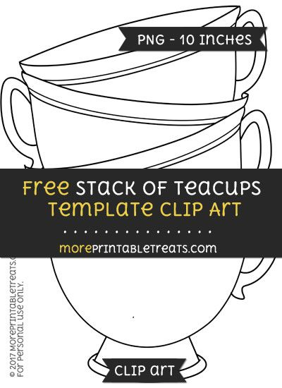 Wonderland clipart stacked teacup. Free stack of teacups