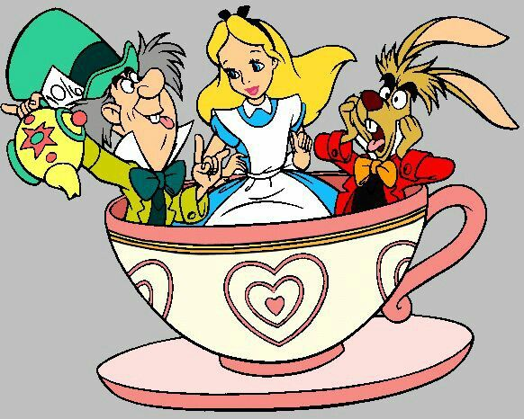 Wonderland clipart stacked teacup. Alice in free watercolor