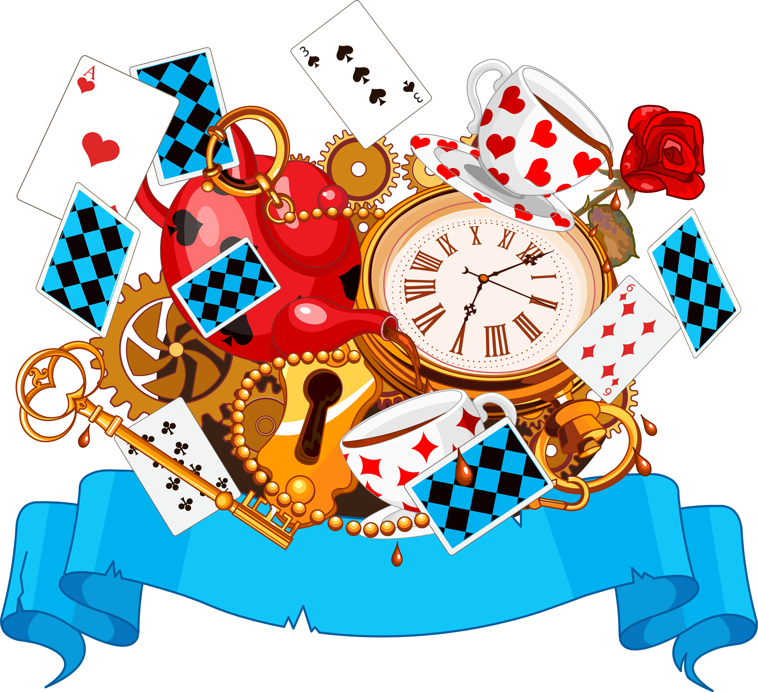 Alice in wonderland clock png. Pin by on clocks