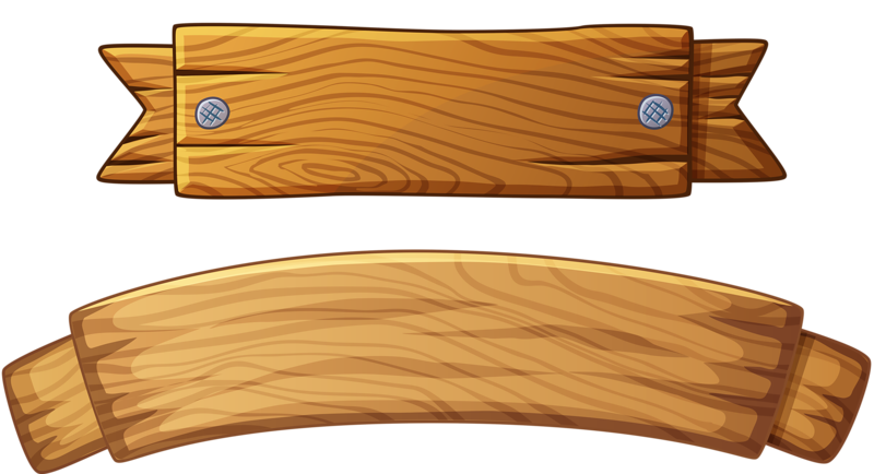 Wood Banner Png Picture 417289 Wood Banner Png