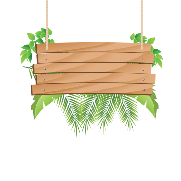 Wood banner png. Vectors psd and clipart