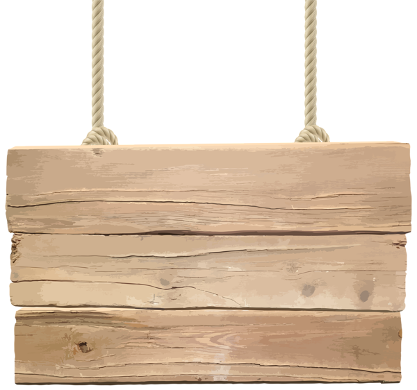 Wood board png. Wooden signboard transparent clip