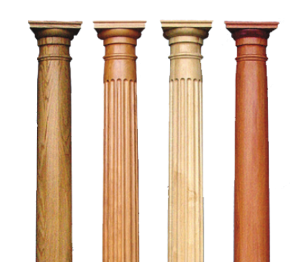 Wood column png. Interior porch columns worthington
