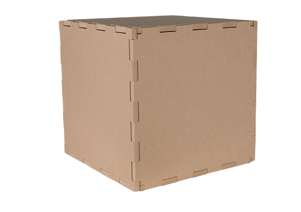 Wood cube png. Wooden photography prop pr